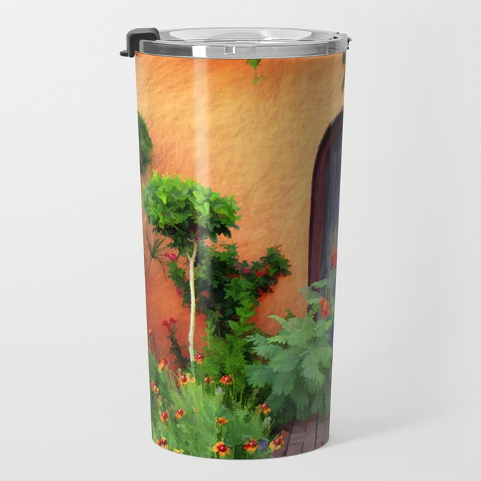 Garden Delights, Mesilla, NM Travel Mug