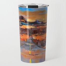 The Land of Rock towers Travel Mug