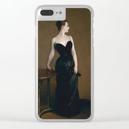 Madame X Clear iPhone Case