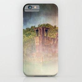 Ghostly Garden Shipwreck iPhone Case