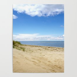 Summer dreams, in the dunes Poster