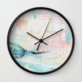 oxidize your thoughts and speak them aloud Wall Clock