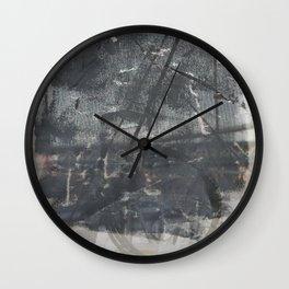 Brooklyn Bridge Abstraction I Wall Clock