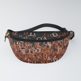 Binary Cloud II Fanny Pack