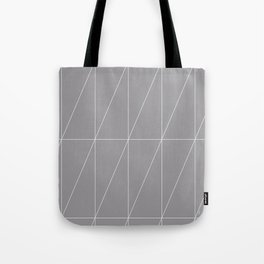 Grey Triangles by Friztin Tote Bag