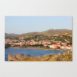 Myrina in the Spring Canvas Print