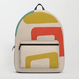 Mid-Century Modern Squares Backpack