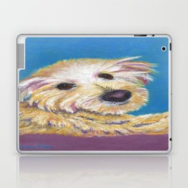 Chance, the Therapy Dog Laptop & iPad Skin