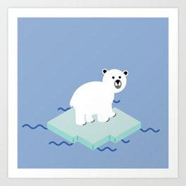 Snow Buddy Art Print