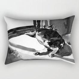 4 of the 12 Days of Sleepmas Rectangular Pillow