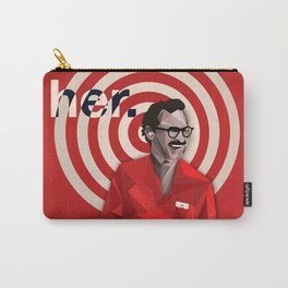 Her Minimalist Movie Poster Carry-All Pouch
