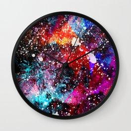 The Nebula Wall Clock