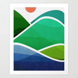 Oahu Shoreline Art Print