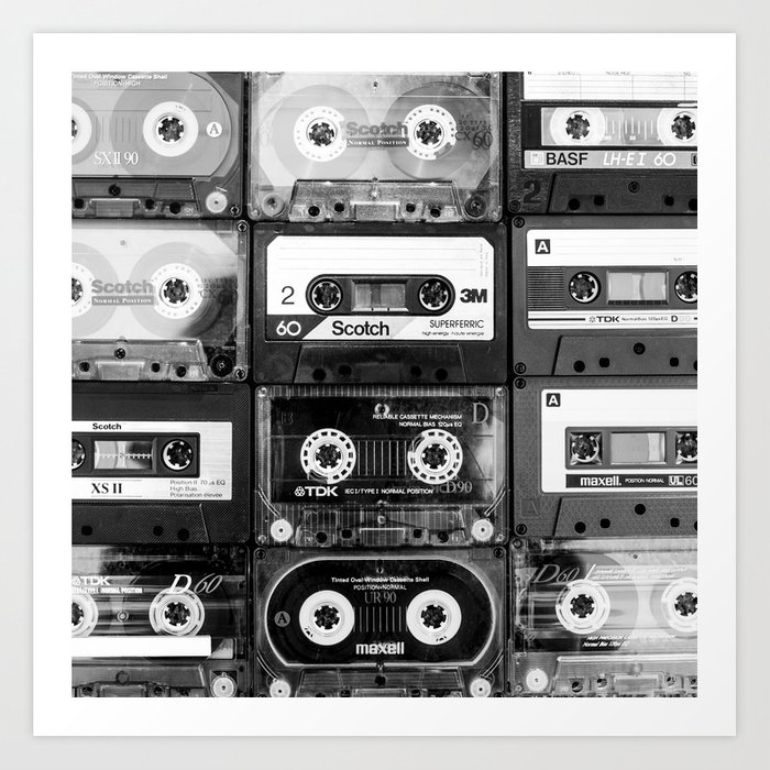 Something Nostalgic - black and white #decor #society6 #buyart Kunstdrucke