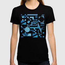 Pattern abstract winter geometric T-shirt