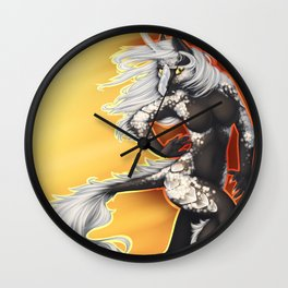 Colors of the Wind Wall Clock