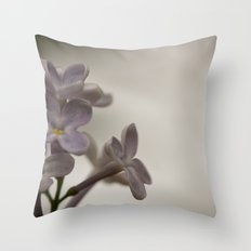 Lilac Morning Throw Pillow
