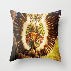 Native Color Throw Pillow