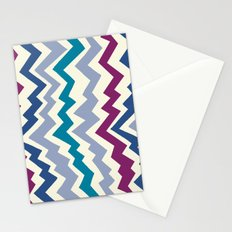 Abstract Mountain Pattern Stationery Cards
