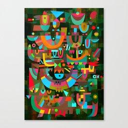 Schema 7 Canvas Print