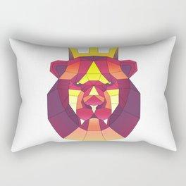 Lion king luxury elite sticker premium cool Rectangular Pillow