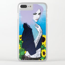 Fleur Du Solei // Series 1 Clear iPhone Case