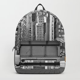 NYC - Yellow Cabs - Fish Market Backpack