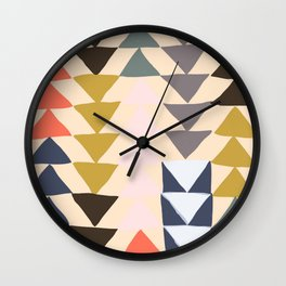 Flying Geese Wall Clock