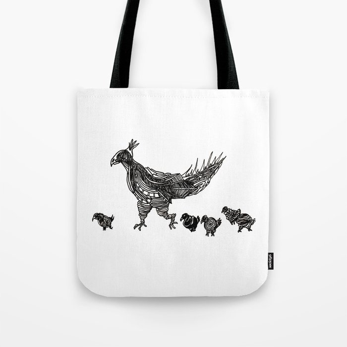 Mother Hen Tote Bag