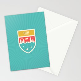 Wilderness: Fish Hatchery Stationery Cards