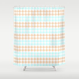 Little Diamonds Shower Curtain