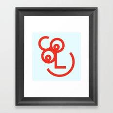 COOL friend Framed Art Print