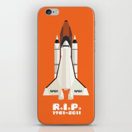 RIP, space shuttle iPhone Skin