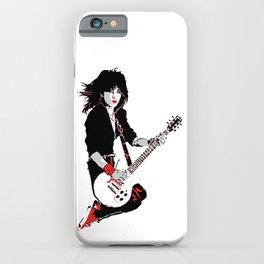 Joan Jett, The Queen of Rock iPhone Case