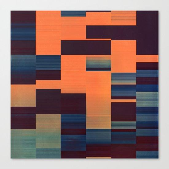 glytch hyryzyn Canvas Print