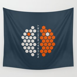 ..just neuralmimicry no.1 Wall Tapestry