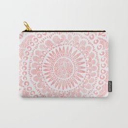 Blush Lace Carry-All Pouch
