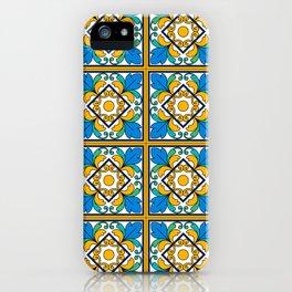 Vintage Majolica Tiles iPhone Case