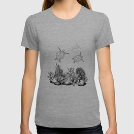 Inky Under the Sea: Turtles T-shirt
