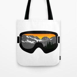 Sunset Goggles 2 | Goggle Designs | DopeyArt Tote Bag