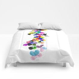 Pride flowers Comforters