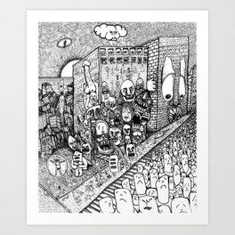 Psychological Dump Art Print