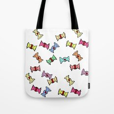Candy all over Tote Bag