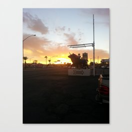 Toreador Sunset Canvas Print