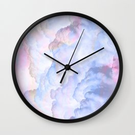 Ethereal Candy Sky Wall Clock
