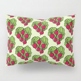 Love for Radishes Pillow Sham