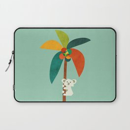 Koala on Coconut Tree Laptop Sleeve