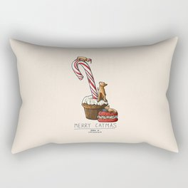Merry Catmas Rectangular Pillow