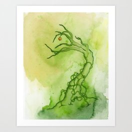Sour Apple Art Print
