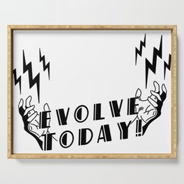 Evolve Today - Electro Bolt Serving Tray